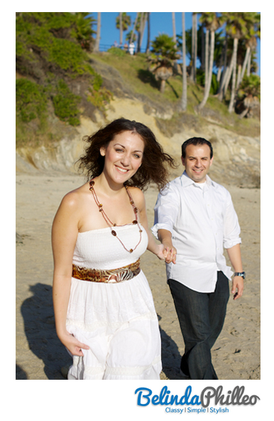 Laguna beach engagement photography by orange county photographer