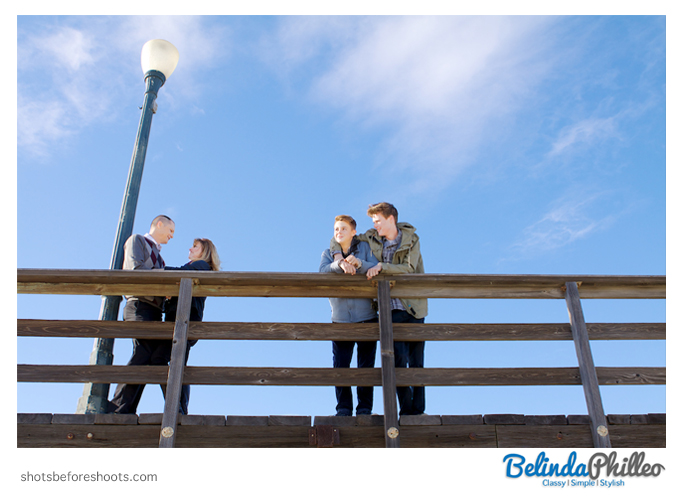 seal beach family portrait session