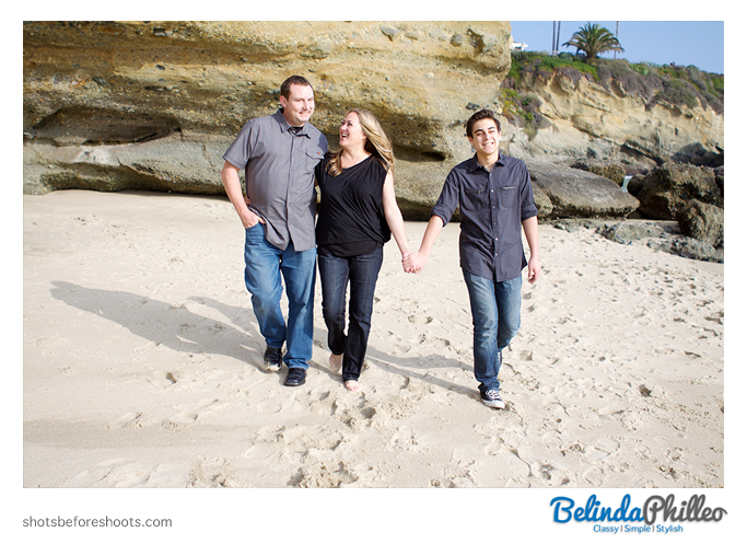Laguna Beach family portraits by orange county photographer belinda philleo