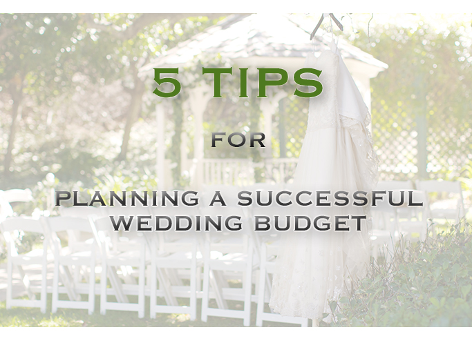 Wedding Budget Planning 5 tips
