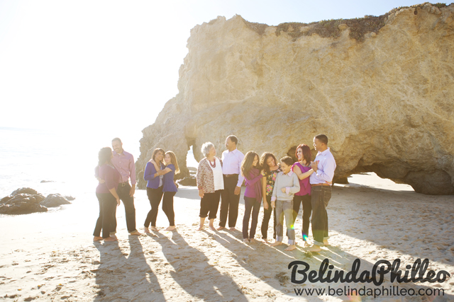 family photos in malibu, ca