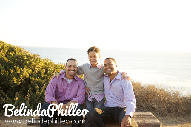 family photos in malibu