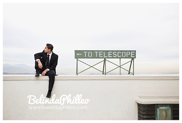 guys senior portraits at griffith observatory, los angeles portrait photographer