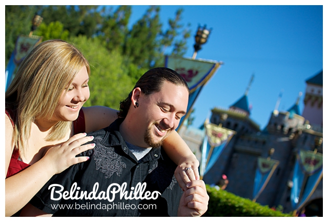 engagement photos at disneyland, california