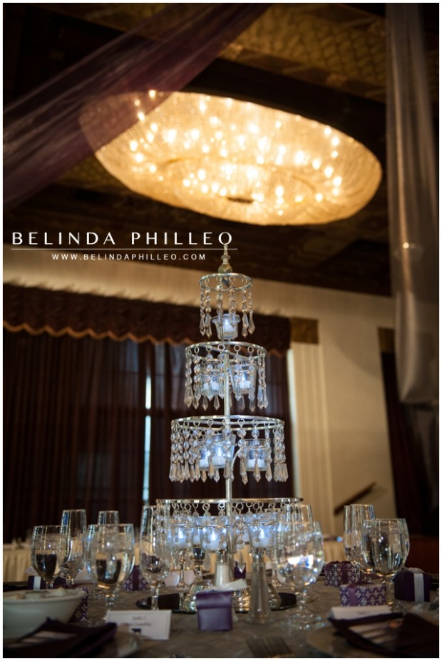 Crystal Marquis Ballroom Wedding Reception