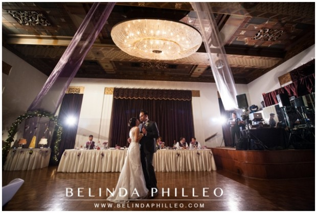 Crystal marquis ballroom wedding reception in Whitter, CA