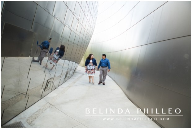 Walt Disney Hall Engagement Photos
