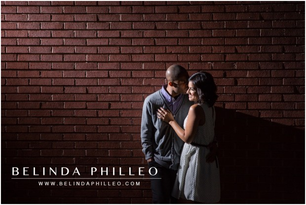 Romantic Fullerton Engagement Photos