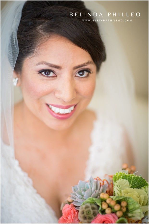 pacific palisades bridal portrait