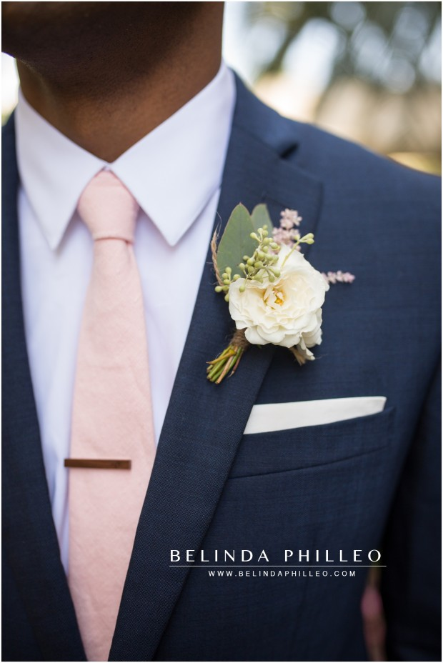 Boutonniere's by Indigo and Plum