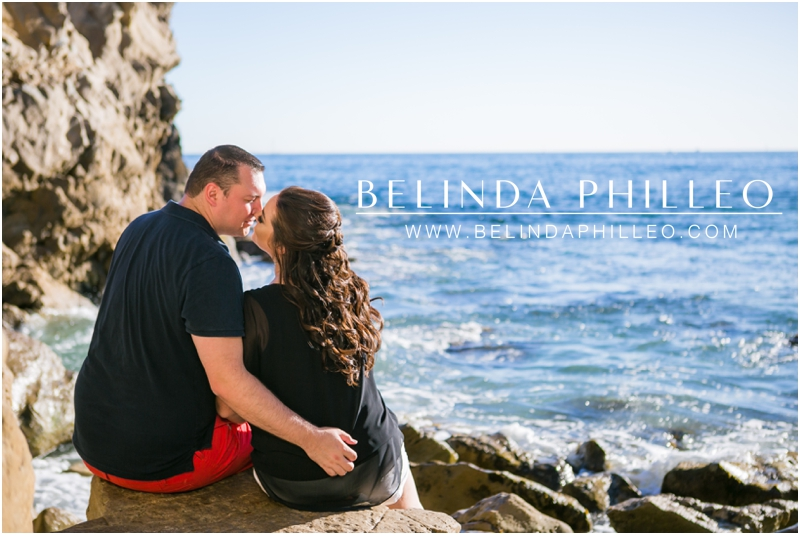 Corona Del Mar Engagement Pictures by Belinda Philleo