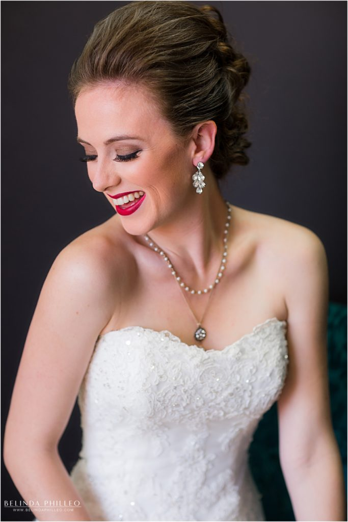 Bridal hair and makeup by Label Me Lindsay bridal team, Los Alamitos, CA. Photo by Belinda Philleo