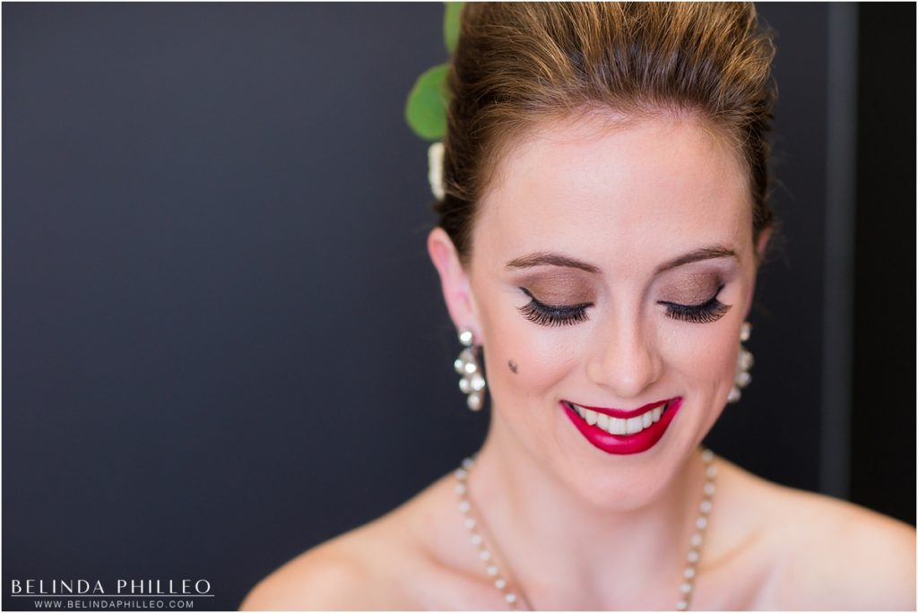 Bridal makeup by Label Me Lindsay bridal team, Los Alamitos, CA. Photo by Belinda Philleo
