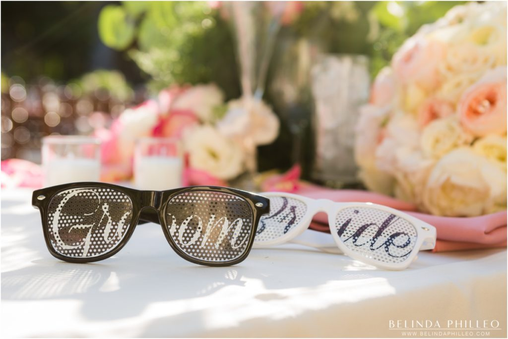 Bride & Groom novelty sunglasses