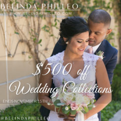 $500 Off 2017 Wedding Collections