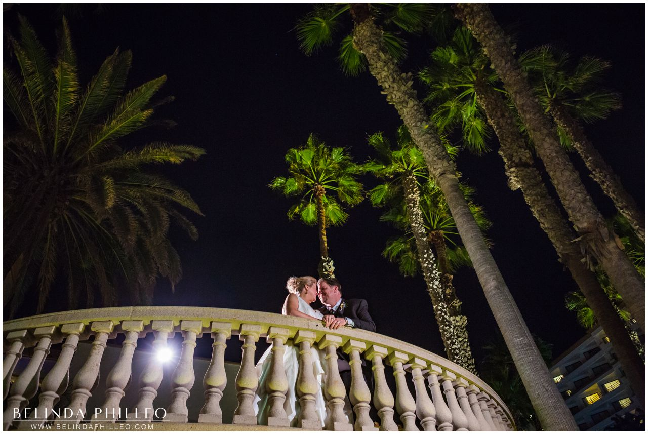 Wedding at Hilton Waterfront Resort in Huntington Beach, CA