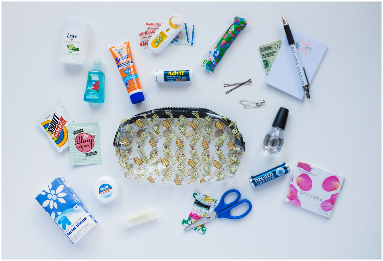 create your own wedding day emergency kit