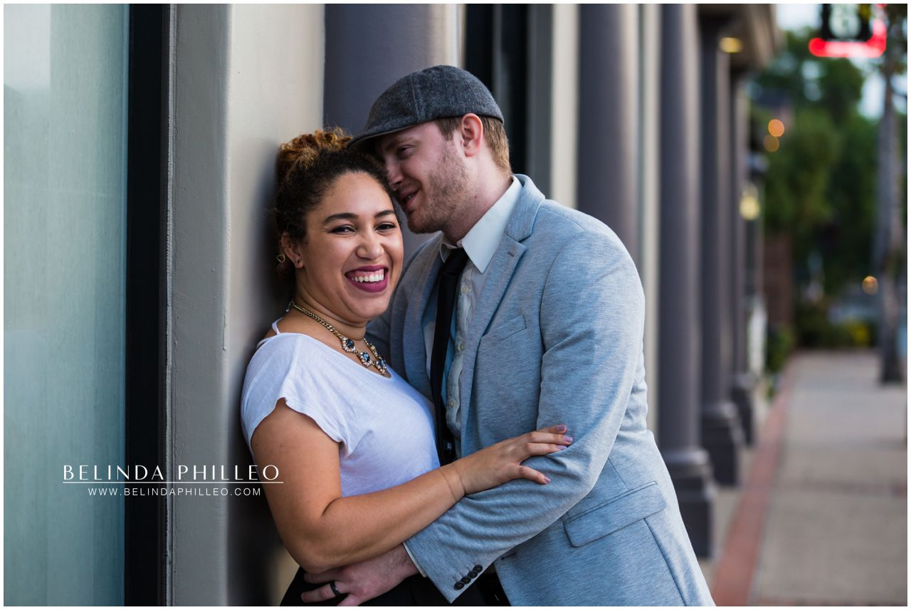 Romantic Downtown Fullerton Photoshoot. Photos by Belinda Philleo