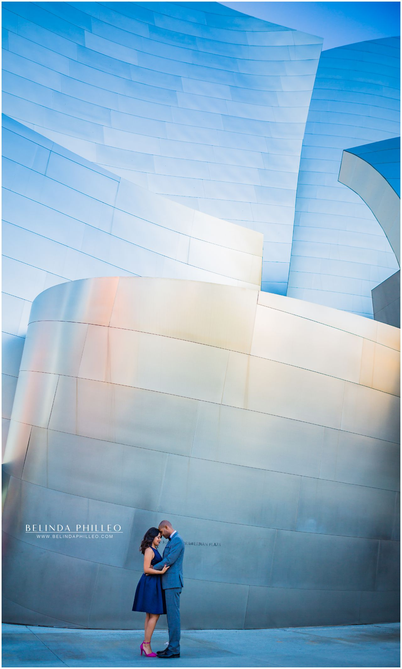 Downtown LA Photo Shoot at Walt Disney Concert Hall, Los Angles, CA