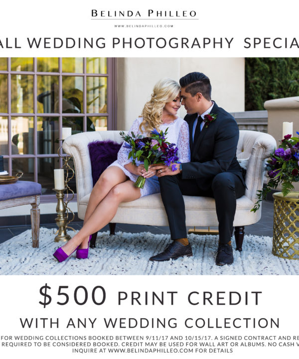 2017 Wedding Photography Special