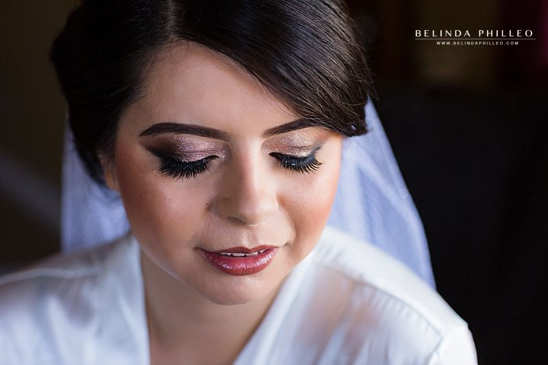 smokey eye bridal makeup look
