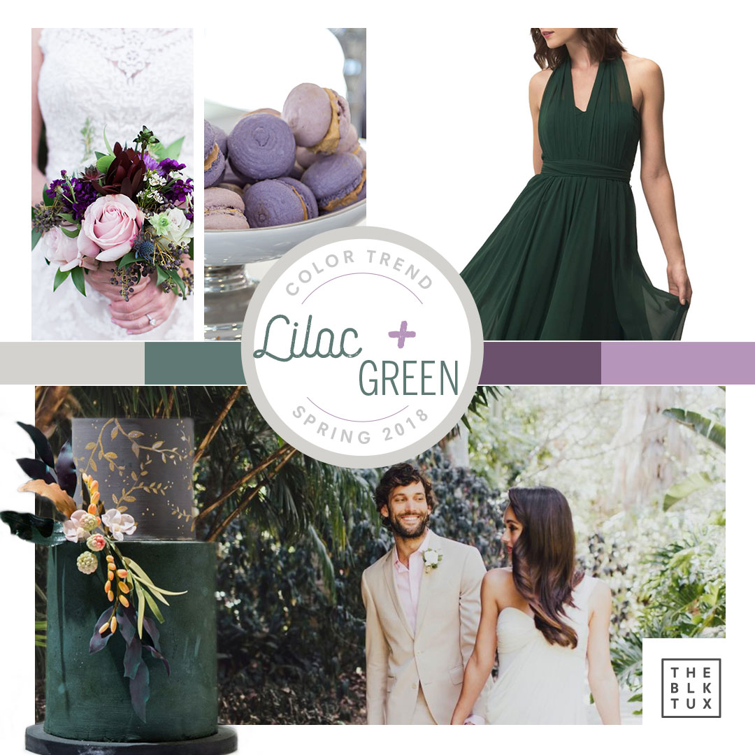 Lilac & Green Spring wedding inspiration
