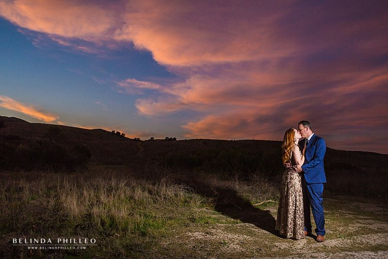 Dreamy Couples Photoshoot in Coto De Caza. Dramatic engagement photos in Orange County