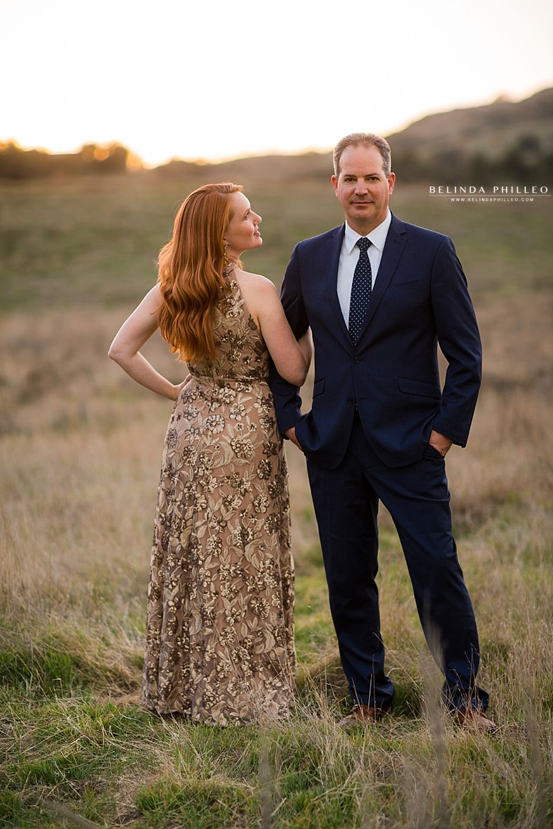 Dreamy Couples photoshoot in Coto De Caza. Classy and romantic anniversary photos
