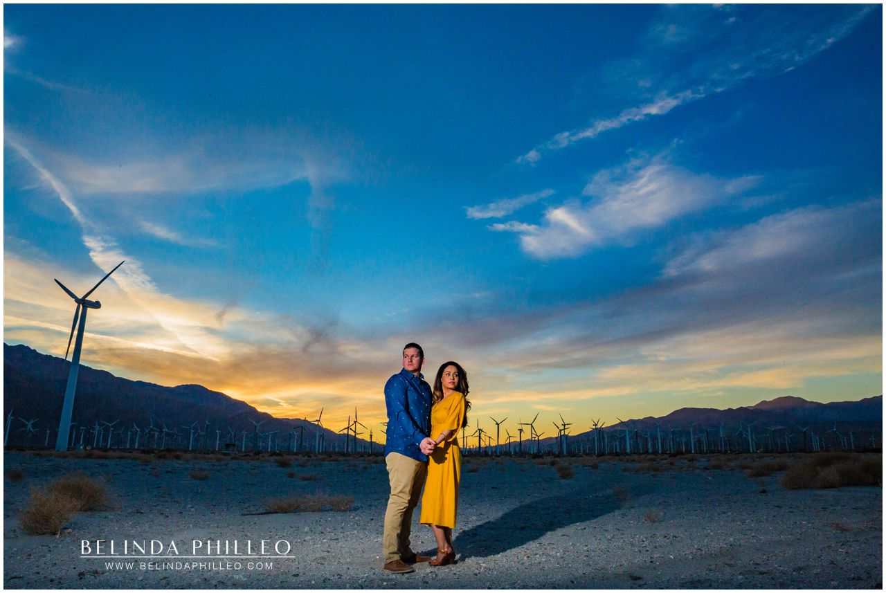 Palm Springs Adventure Shoot. SoCal Engagement photos by Belinda Philleo