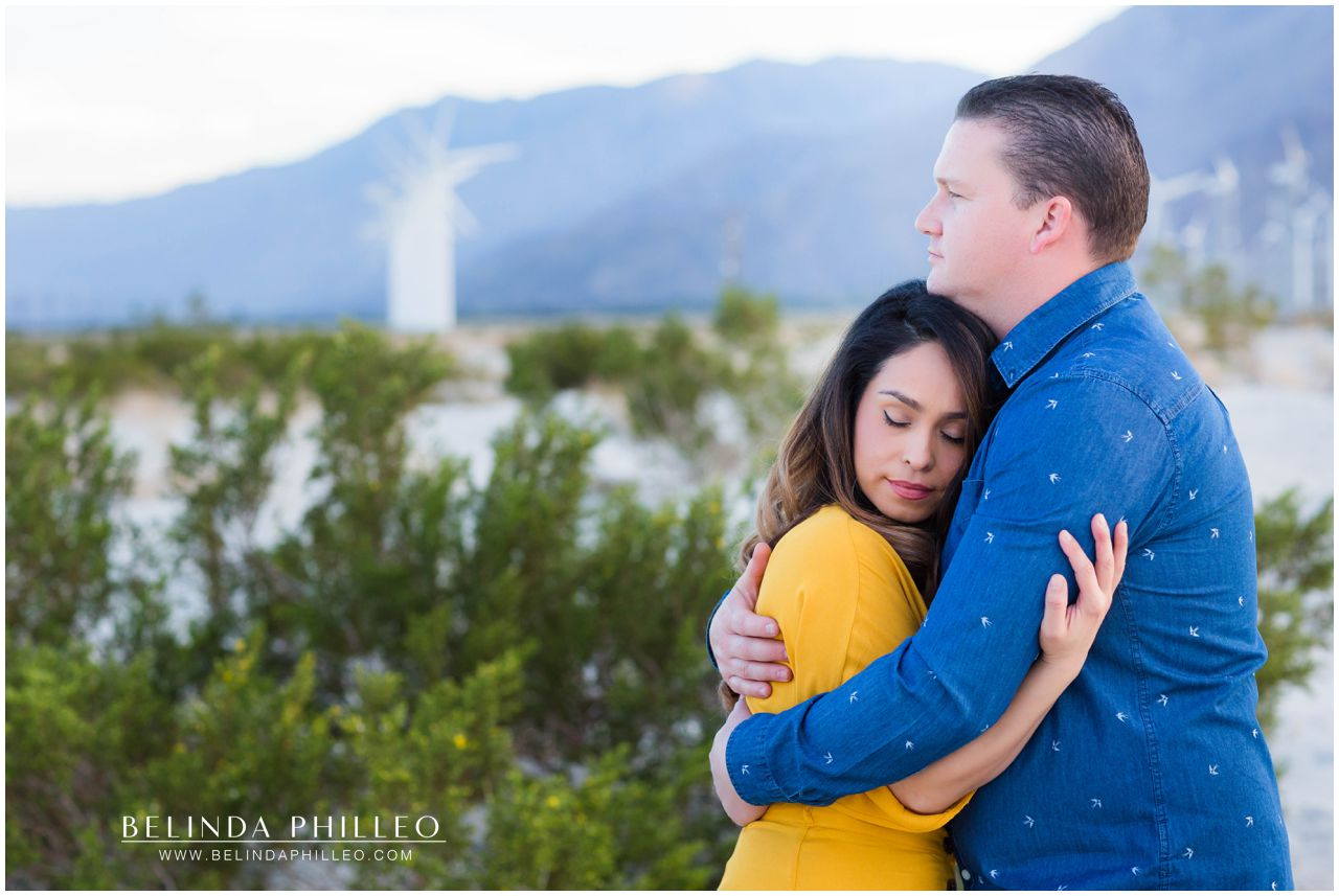 Palm Spring adventure engagement photos by Belinda Philleo