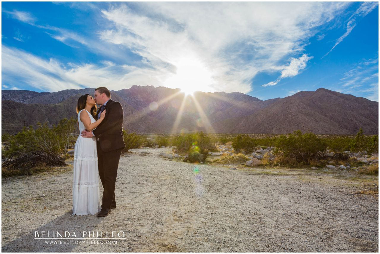 Romantic Engagement photos near Mt. San Jacinto